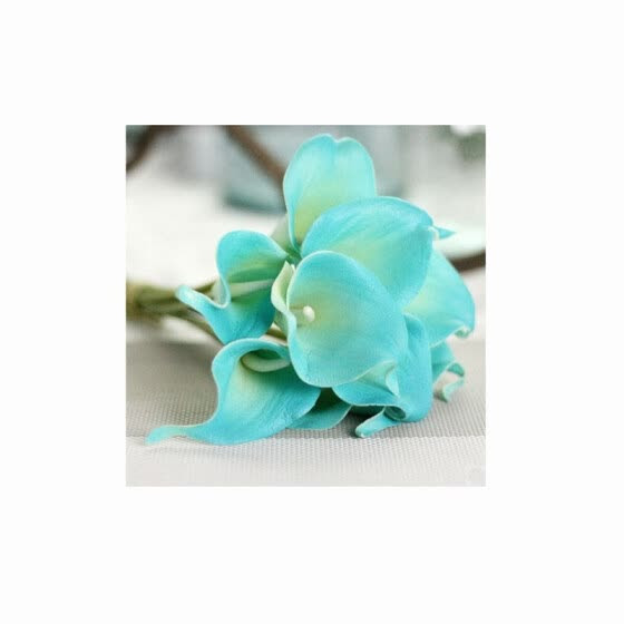 Shop 10pcs Calla Lily Bridal Wedding Bouquet Head Latex Real Touch Flower Bouquets White Online From Best Holiday Seasonal Decor On Jd Com Global Site Joybuy Com
