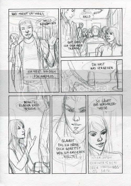 Comic Skizze
