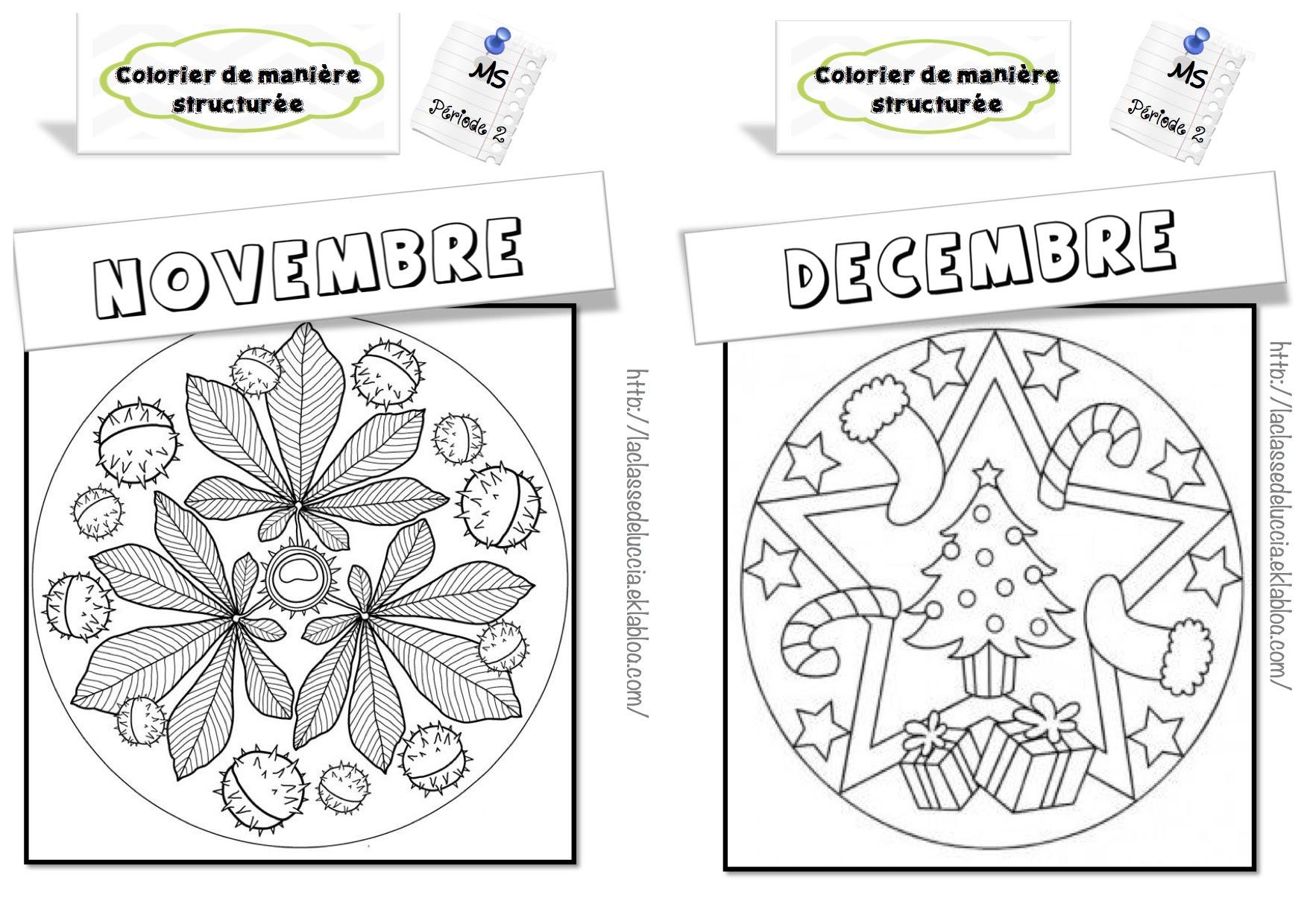 Colorier De Manière Structurée Ms La Classe De Luccia