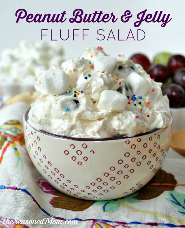 Fluff Salads Collection - Peanut Butter & Jelly Fluff Image