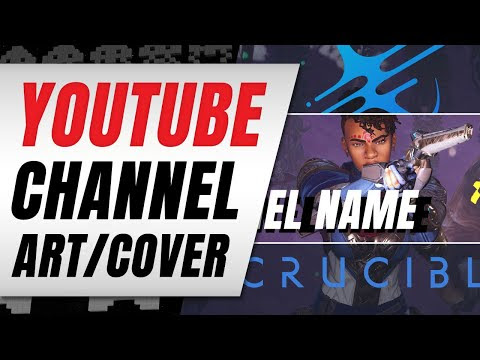 CRUCIBLE Themed FREE YOUTUBE CHANNEL ART!