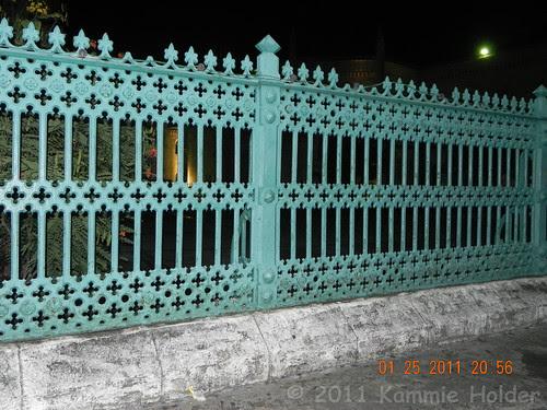 Andrew Handyside railings around Barbados Parliment Buildings.