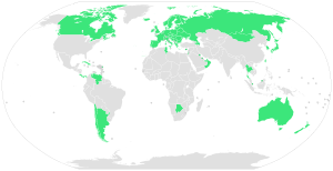 Nations with Universal health care systems. Na...