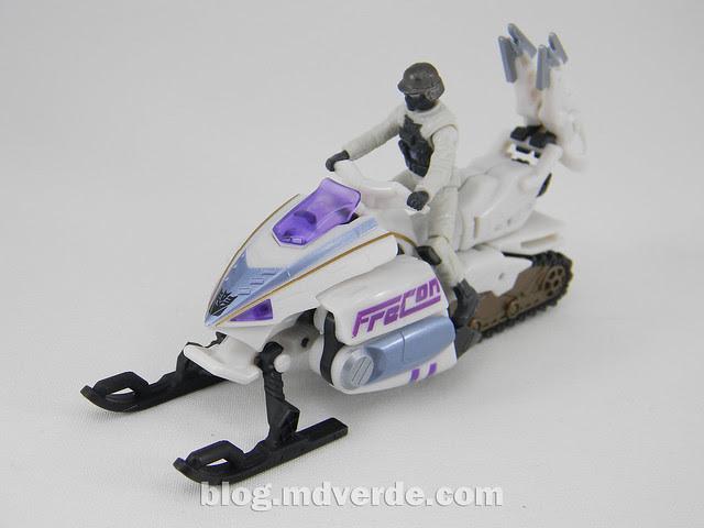 Transformers Icepick DotM Human Alliance - modo alterno