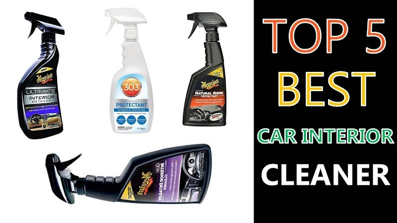 Car Interior Detailing Products