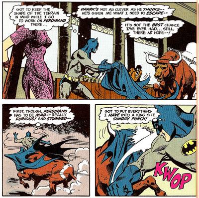Batman #235 panel