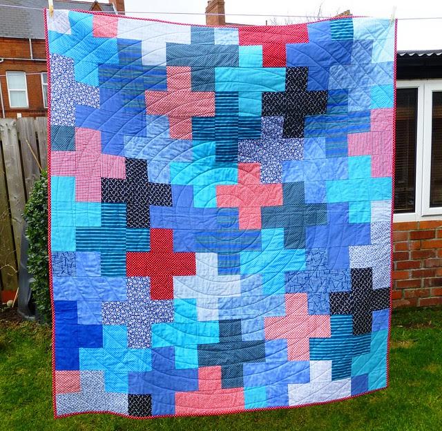Jonah's Plus quilt Mar13 003