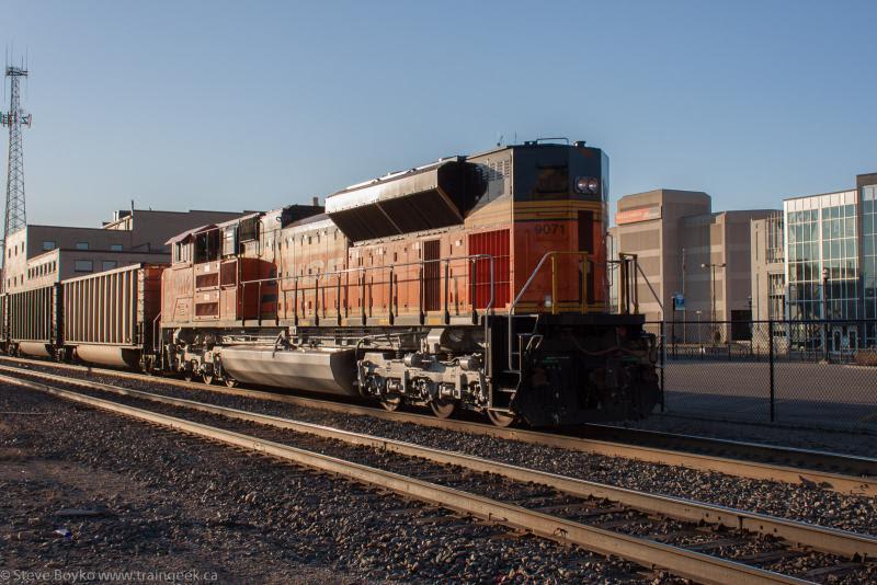 BNSF 9071 in Fargo