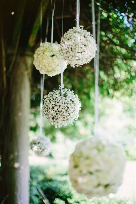 floral ball outdoor wedding ceremony backdrop   Deer Pearl