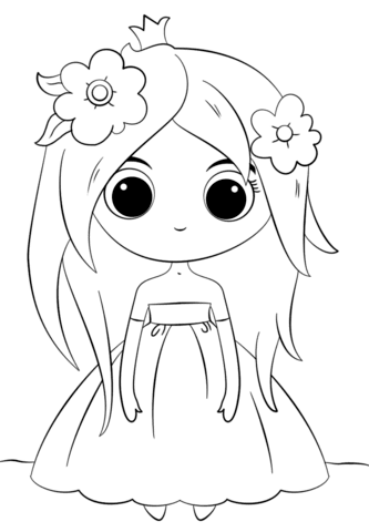 9500 Top Coloring Pages Cute Princess , Free HD Download