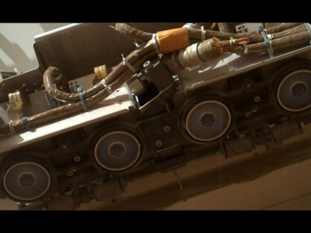 """Résultat de recherche d'images pour """"Curiosity : les caméras hazcam"""""""