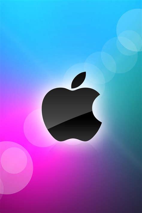 apple blau und lila hintergrund iphone xgs hintergrundbilder herunterladen de