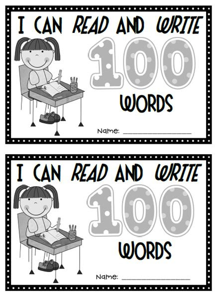 This is a great book to do after reading I'll teach my dog 100 words.  Love the idea of a prompt to write ten words on each page ie I can write ten color words, number words etc.  tpt$2.00