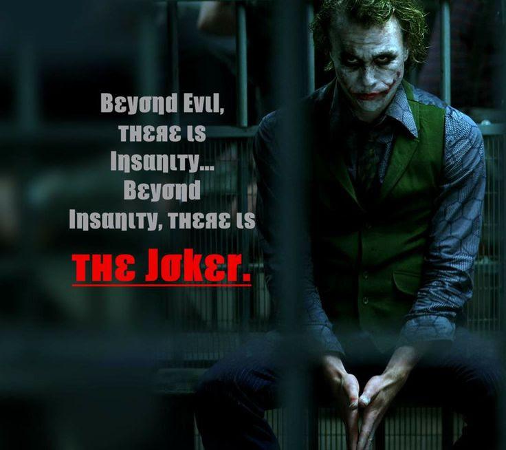 Dark Knight Best Joker Quotes Quotesgram