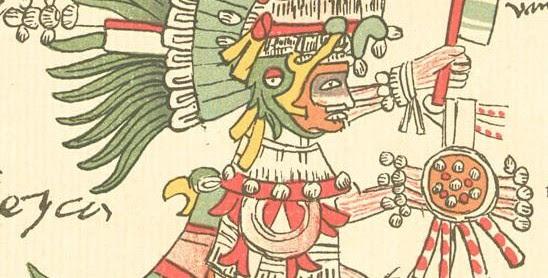 Comida Y Dioses Aztecas Icarito