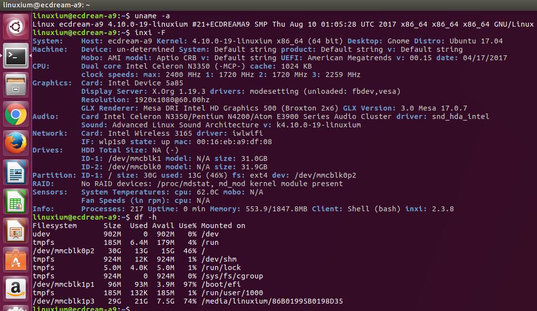 Apollo Lake Linux Kernel