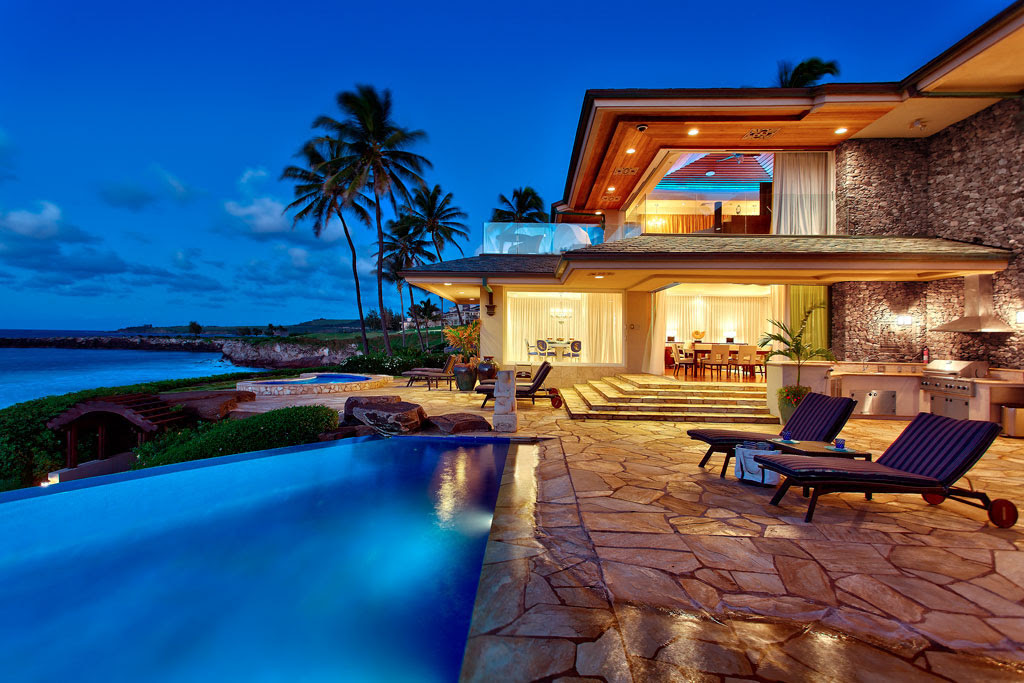 Luxury Beachfront Estate In Maui | iDesignArch | Interior Design ...