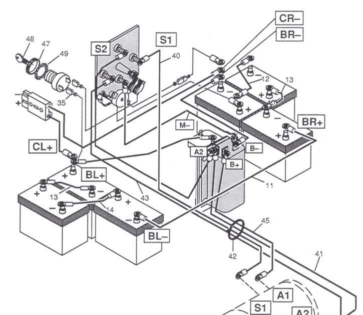 95 Ez Go 36v Wiring Diagram