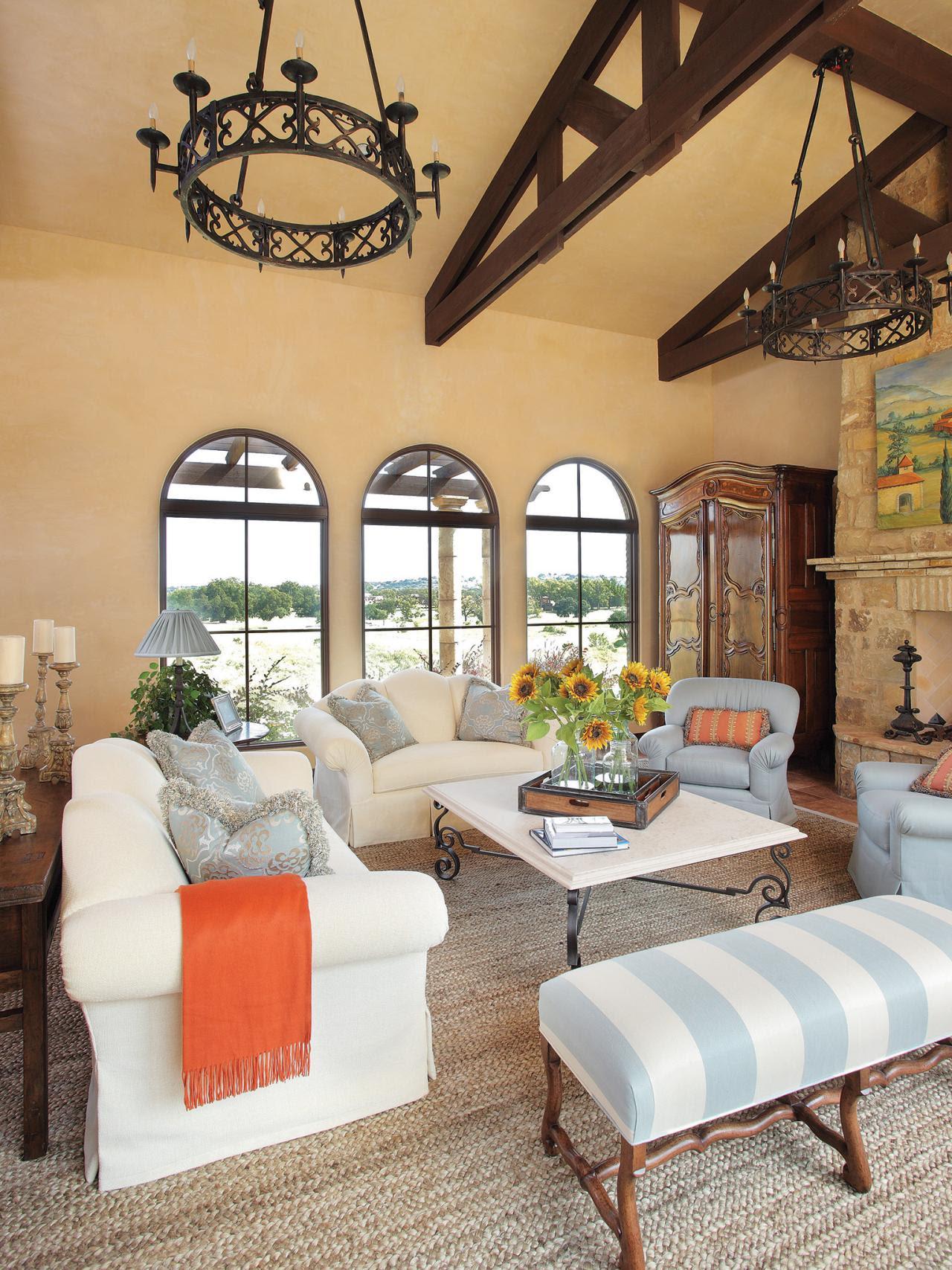 25 Mediterranean Living Room Design Ideas - Decoration Love