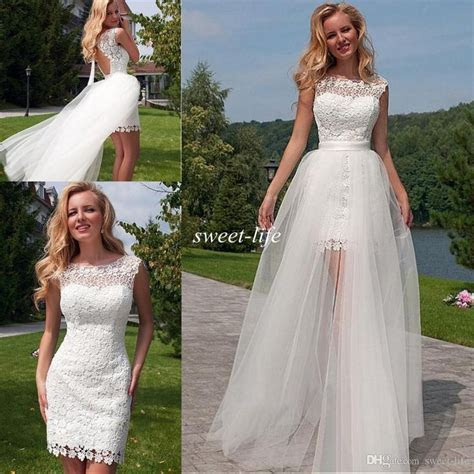 1000  ideas about Detachable Wedding Dress on Pinterest