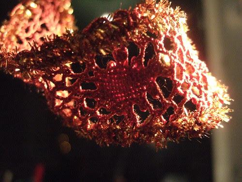 bendy bobbin lace