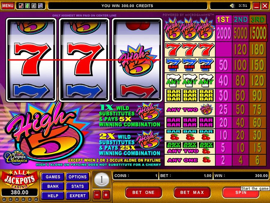 High 5 slot games best high 5 slot machine games online