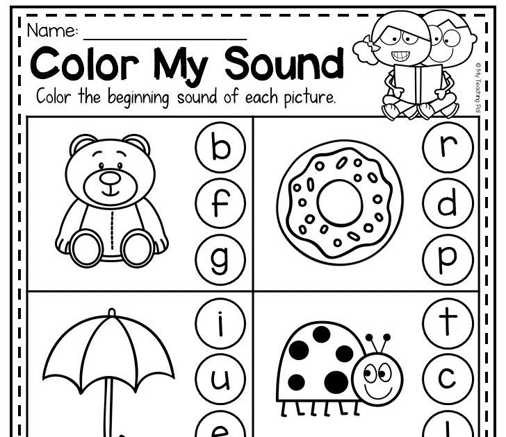 Kindergarten Worksheets Australia