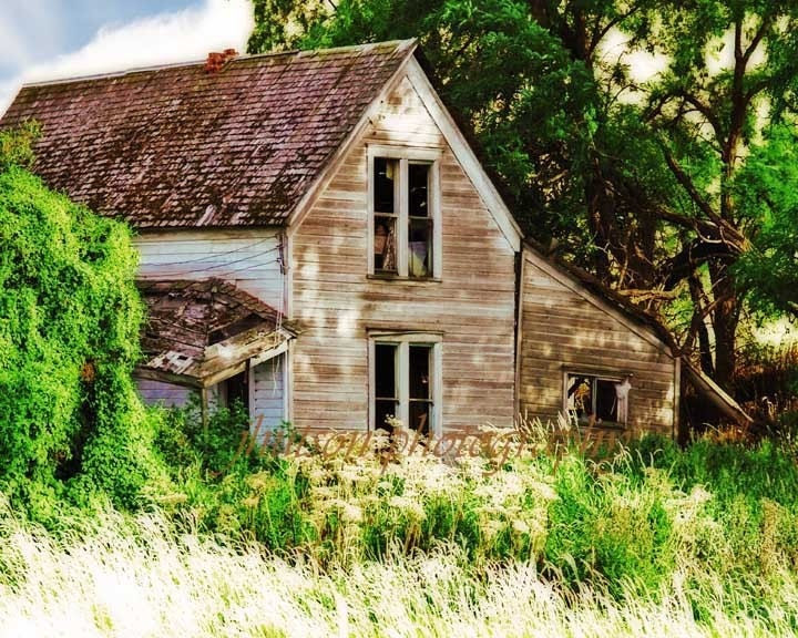 This Old House - Fine Art Photography 8X10 Print