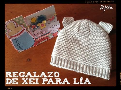 REGALAZO DE XEI PARA LÍA 01