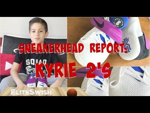 Sneakerhead Report: Purple KYRIE 2's –Basketball Sneakers