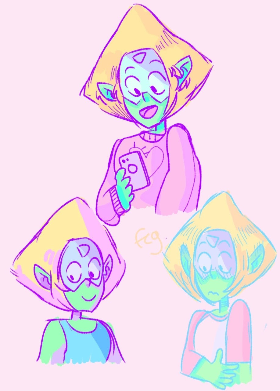peri with ears doodles