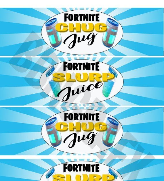 Fortnite Bingo Card 3x3