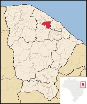 Localização de Pentecoste
