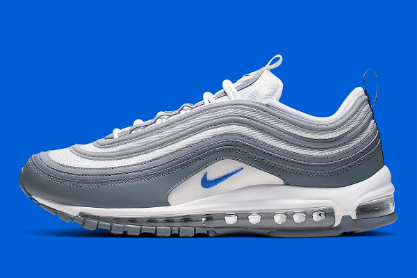 8f2be5f1ee Nike Air Max 97 Appears In Hyper Royal And Cool Grey