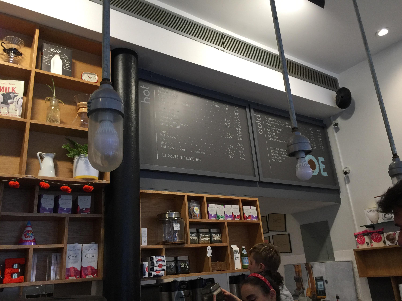 Joe Coffee - New York City - The Cappuccino Traveler Reviews