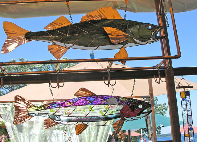 The glass fish