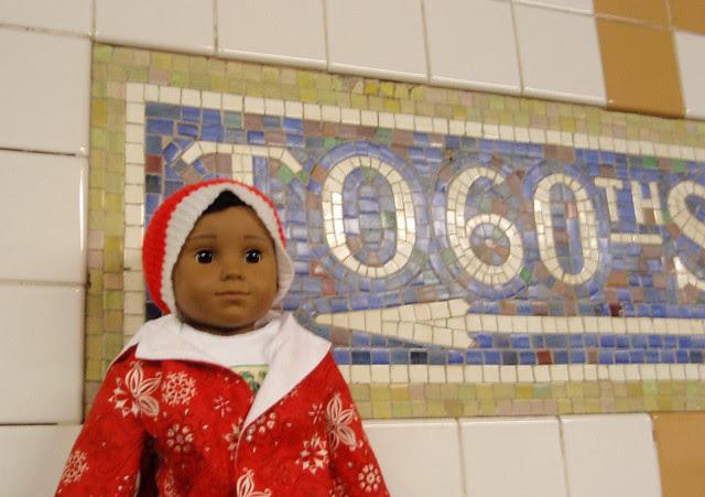 Maiki on the subway