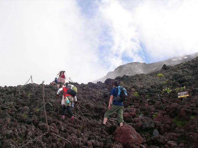富士山登山2009 Climbing Mt.Fuji