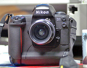 I am the author. This is a photo of a Nikon D1.
