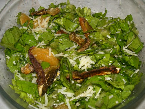 porcini mushroom salad