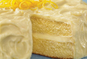 Healthy Lemon Tofu Chiffon Cake