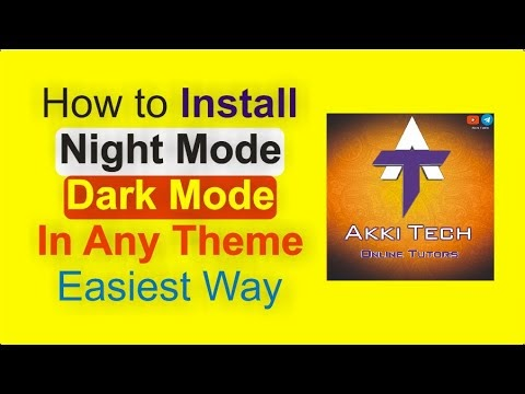 How to install Night mode button on Blogger Website