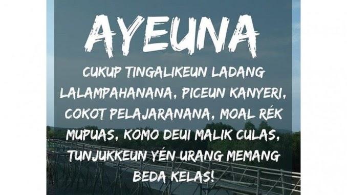 33 Kata Kata Bijak Bahasa Sunda Buhun