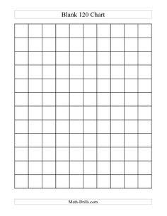 120 Chart Partially Filled (A) Math Worksheet #freemath | 1st ...