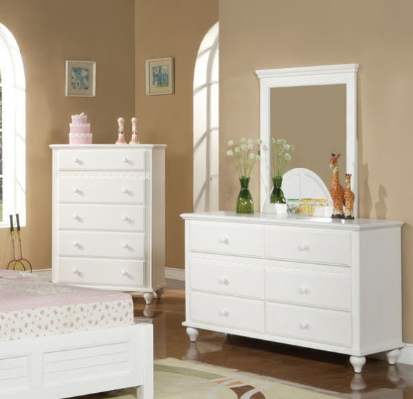 White Bedroom Dresser with Mirror - Decor IdeasDecor Ideas