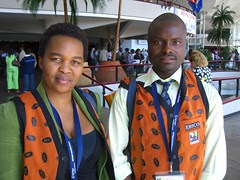 Two nice South African librarians I met