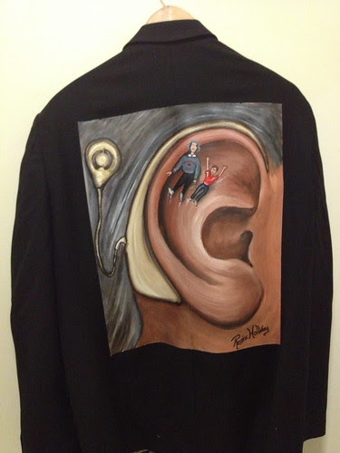 """Enjoying the Ride"" a jacket for Lance Manning"