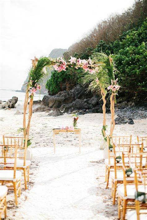 216 best Beach Wedding Ceremony Ideas images on Pinterest