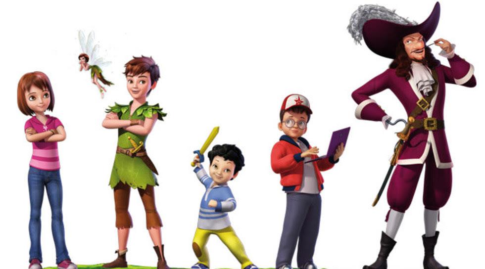 Peter Panın Yeni Maceraları 8 Bölüm Minika Go