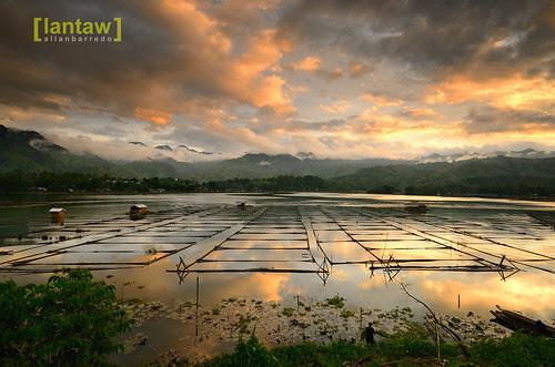 Sunset in Lake Sebu